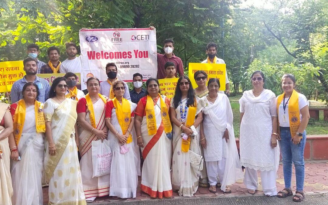 TB Awareness on Gandhi Jayanti – 2nd October 2021