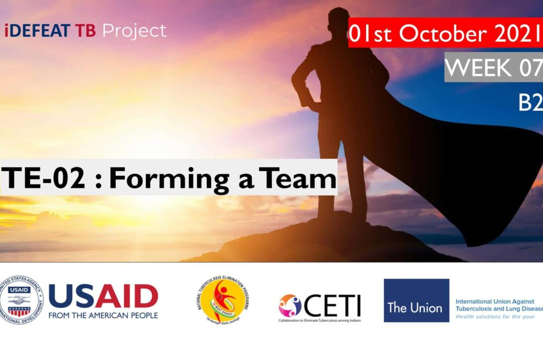 PMEC B2 | TE-02 : Forming a Team